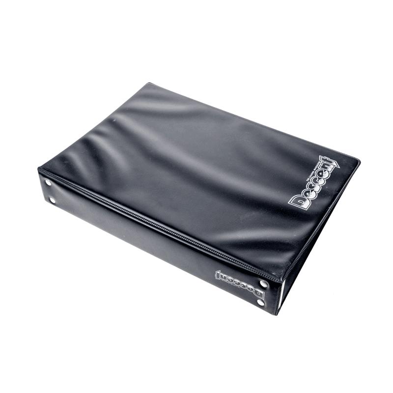 Descent old-style black binder