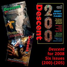 Descent set for 2008