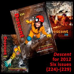 Descent set for 2012