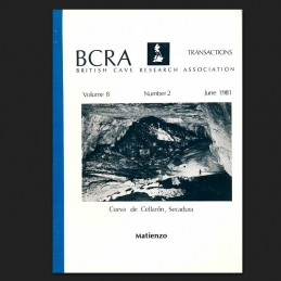 BCRA Transactions Vol 8 (2) June 1981: Matienzo