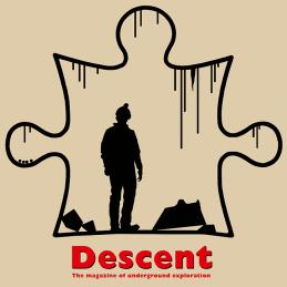 Descent Jigsaw T-shirt Sand