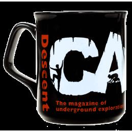 Descent black mug
