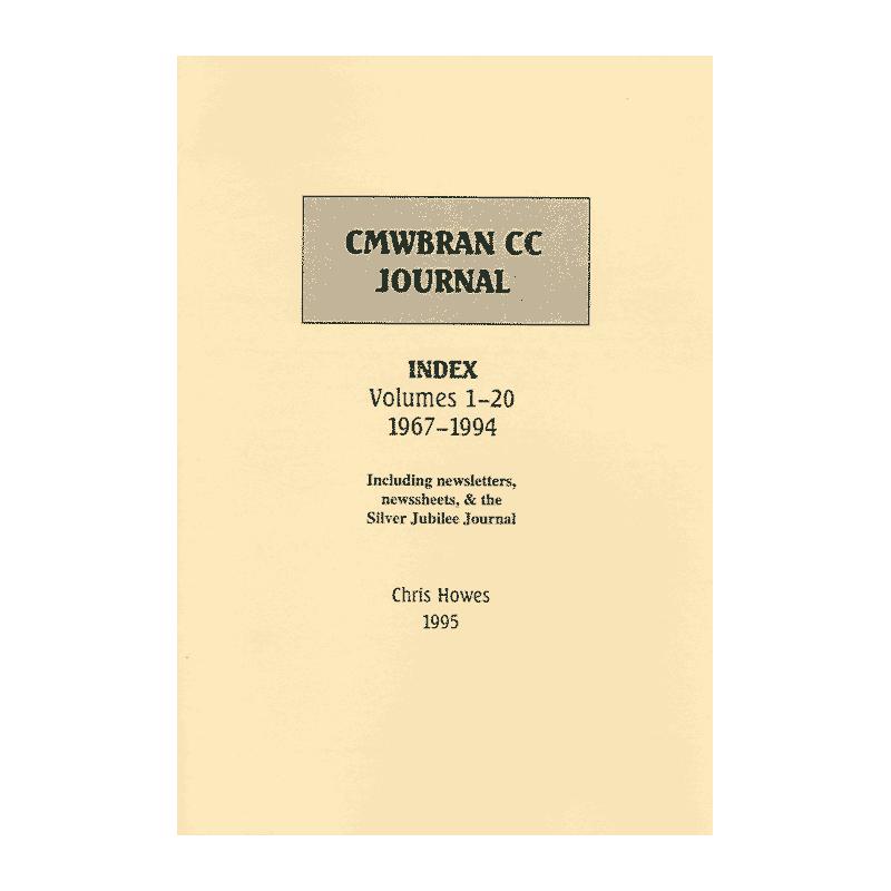 Cwmbran CC Journal Index