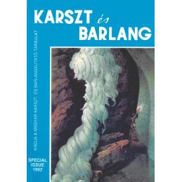 Karst es Barlang special issue