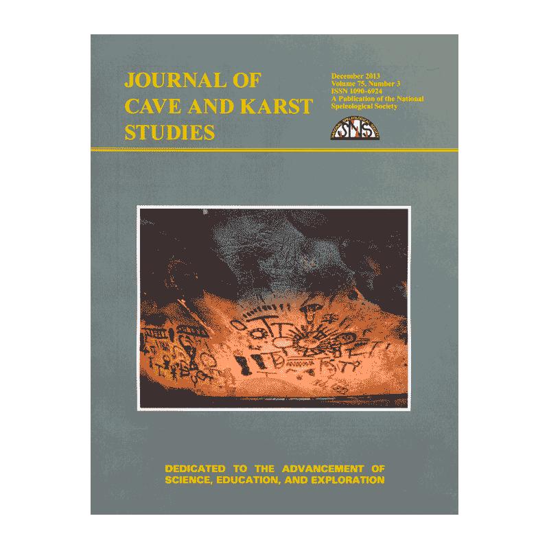 Journal of Cave & Karst Science