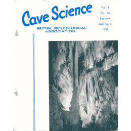 Cave Science (BSA Journal)