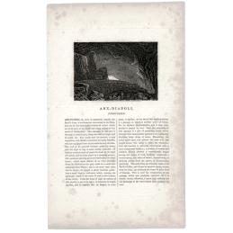 Arx-Diaboli Peak Cavern engraving
