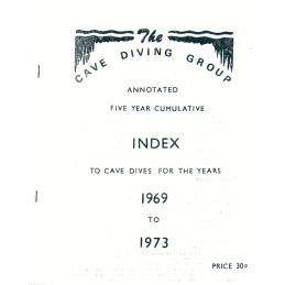 CDG Cumulative Index 1969-1973